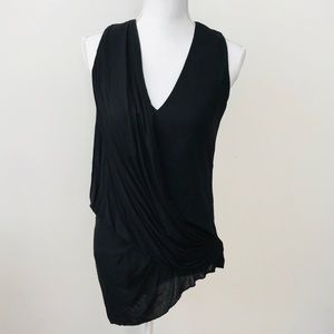 HELMUT LANG Overlap Layered Tank Top size small